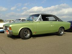 Classic European Cars, Classic Cars, Ford, My Ride, Cars And Motorcycles, Vans, Vehicles, Green, Motorbikes