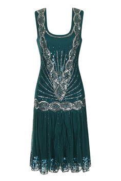 Zelda Flapper Dress Emerald                                                                                                                                                                                 More