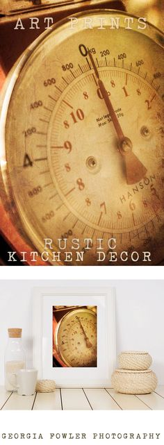 Rustic Home Decor, Mothers Day Gift, French Country Kitchen Decor Art Print, Kitchen Print, farmhouse decor, housewarming gift idea