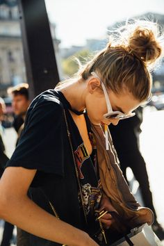 Street Style Paris Fashion Week, septiembre de 2016 © Icíar J. Carrasco @olivianance72