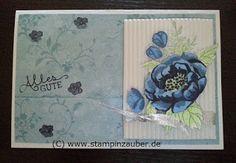 Congratiolations Card / Glückwunschkarte für Match the Sketch 123 mit dem Stampin' Up! Stempeln aus dem Set Geburtstagsblumen von Silvi Unabh. Stampin' Up! Demonstratorin  aus Jena Thüringen http://www.stampinzauber.de