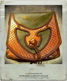 Leather bag, handmade