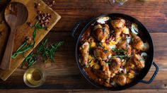Skillet Chicken With Tomatoes, Pancetta and Mozzarella