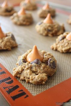 bakeddd:  pumpkin spice oatmeal cookies click here for recipe