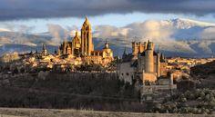 Segovia in Spain.