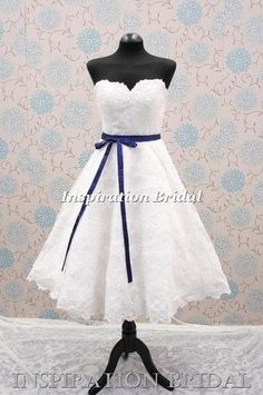 vintage lace 1950s 1283 short wedding dresses tea length below knees sweetheart