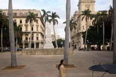 Parque Central, La Habana, Cuba. Rode my bike here as a little girl.