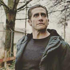 "Jake Gyllenhaal as Detective Loki in ""Prisoners""."