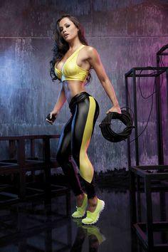 Fernanda D'avila para #RolaMoça fashion fitness - por ORG Studio