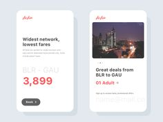 This is the follow-up shot to Deals just an another concept of booking and deals screen Follow me to stay updated. Dribbble | Behance | Instagram