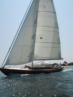 Morris Yacht 42 sailing out of Edgartown
