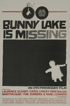 Bunny Lake is Missing poster (1965)