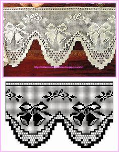 .Crochet edging mantel