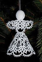 This is my next project goal after learning how to do a Cross. This reminds me of the Hardanger Angels I've done ~ ! ~