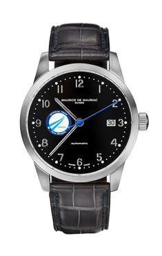 Elegant Swiss made watches for men handcrafted in Zurich by Maurice de Mauriac. Modern Watches, Luxury Watches For Men, Louis Vuitton Watches, Moon Watch, Swiss Made Watches, Dream Watches, Automatic Watch, Watch Brands