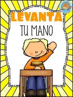 Classroom rules for middle school Bilingual Classroom, Classroom Rules, Classroom Language, Spanish Classroom, Teaching Spanish, School Binder Covers, Catholic Kids, Kids Class, Character Education