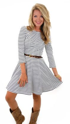 Boat Yard Dress :: NEW ARRIVALS :: The Blue Door Boutique