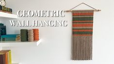 Half Hitch Knot, Macrame, Wall, Weaving, Shelves, Curtains, Youtube, Pattern, Color