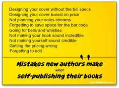 Use this guide to avoid the worst self-publishing mistakes. Writers Help, Sell Your Books, Research Writing, Writer Quotes, Psychology Books, Content Marketing, Digital Marketing, Self Publishing, How To Look Better