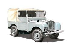 This A1-sized poster features a highly detailed hand drawn illustration of a 1948 Land Rover Series 1 by George Morgan.  Produced on 230gsm FSC accredited Matt Art Paper, this poster is suitable for framing with or without a mount and will be supplied wrapped in protective tissue paper and posted in a sturdy cardboard tube. The frame and mount shown are not included.  HUE 166 is the 'number one' pre-production Land-Rover. It was sold in July 1948 to a farmer in Warwickshire and, at the close…