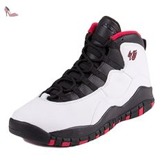 sale retailer 19ad8 19d55 Nike Air Jordan 10 retro 310806 103: Amazon.fr: Chaussures et Sacs. Nike  Air Jordan 10 Retro Bg, Chaussures de sport garçon ...