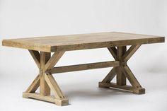 שולחן ELM נפתח רגלי איקס