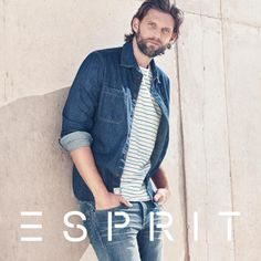 Cool #striped cotton-jersey #shirt by #Esprit