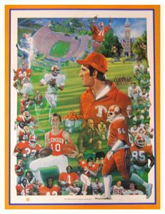 The History of Tigers Football Clemson - Paul Miller 1988