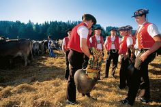 Traditional Yodelers in Appenzell,Switzerland
