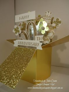 handmade by Julia Quinn - Independent Stampin' Up! Demonstrator: Number of Years Explosion Box