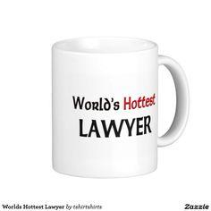 Worlds Hottest Lawyer Classic White Coffee Mug