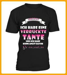 Verrckte Tante - Shirts für die familie (*Partner-Link)