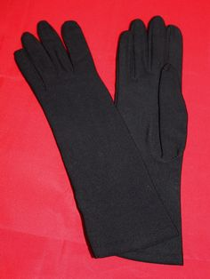 Vintage Isotoner Glove by Aris Black Women's by ilovevintagestuff