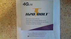 H2O Bolt Mobile HotSpot 4G LTE Free First Month included $50 Plan 10GB Data AT&T Network, 2016 Amazon Hot New Releases Mobile Broadband  #Wireless
