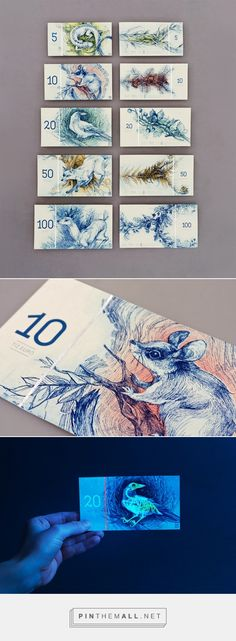 Hungarian Banknote Concept Designed by Barbara Bernát   Colossal