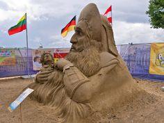 """XII Международный фестиваль песчаных скульптур - """"Остров сказок"""" - Веб-камеры в лесу"""