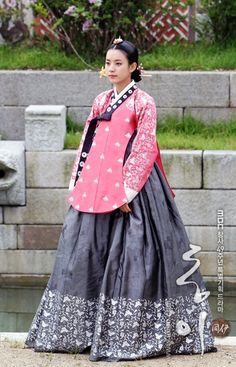 From the series, Dong Yi. Another example of how gorgeous the costuming gets in these dramas.