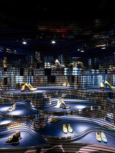 Shoebaloo store by MVSA, Maastricht  store design