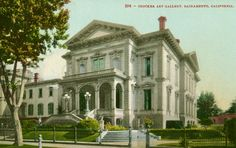 The home of the Crocker family in Sacramento , California