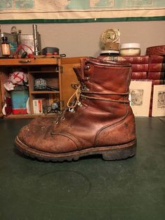 Men's Vintage Red Wing Irish Setter Sport Work Hunting Boots Insulated 9 D  | eBay
