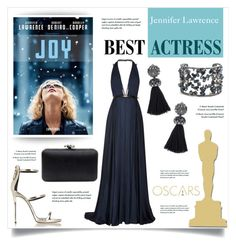 """Oscar Red Carpet: Go Glam!"" by mfardilha ❤ liked on Polyvore featuring Jason Wu, Alexis Bittar and Giuseppe Zanotti"