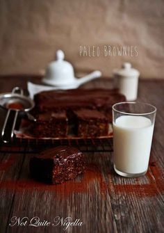 Brownies | 25 Decadent Desserts You Won't Believe Are Paleo