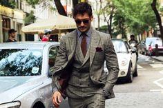 Suit casual.