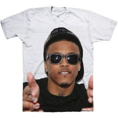August Alsina Shirt ($37) ❤ liked on Polyvore featuring tops, shirts, girls, t-shirts, shirt tops, summer shirts and summer tops