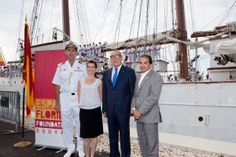 Spain-Florida Foundation Welcomed the Spanish Navy training ship to Miami on May 1, 2013.
