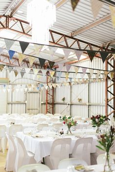 DIY Farm Shed Wedding Reception // Photography ~ White Images