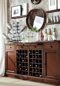 Our Modular Bar System Is A Stylish Alternative To Built In Cabinetry HOW ITS CONSTRUCTED O Expertly Crafted With Solid Mahogany Frame
