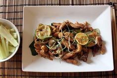Pollo lime e zenzero ricetta