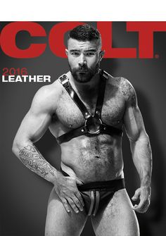 2016 Leather Calendar | COLTstudiostore.com
