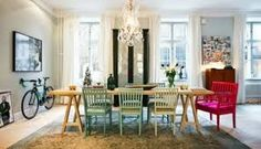 Scandinavian Interior Design with colorful touches – a little Shabby Chic and | Interior Design Ideas | AVSO.ORG